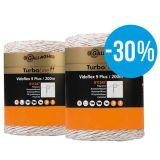 Gallagher Vidoflex 9 duopack wit 2x200m   Kuiper Koekange