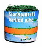 Puntdraad Groen geplastificeerd (03) puntafstand 100mm 250m lang