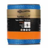 Gallagher turboline lint (15.1) 12,5mm blauw 200m