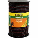 (09) Patura tornado schriklint bruin 20mm - 200m