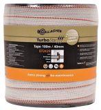 Gallagher turbostar lint (26) 40mm wit 100m