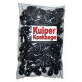 Kuiper ringisolator zwart met doorlopende kern - 50 stuks   Kuiper Koekange