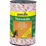 Patura tornado schrikkoord wit/oranje 6mm - 200m | Kuiper Koekange