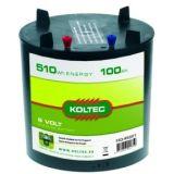 Koltec batterij rond 6V   Kuiper Koekange